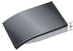 ribbed electrical mat
