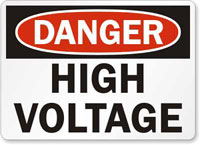Danger High Voltage!